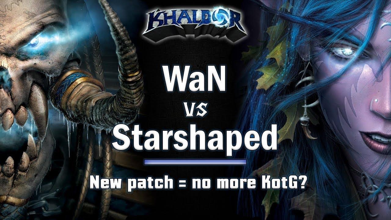 ► WarCraft 3 - Starshaped (NE) vs. WaN (UD) - Demonhunter is back!