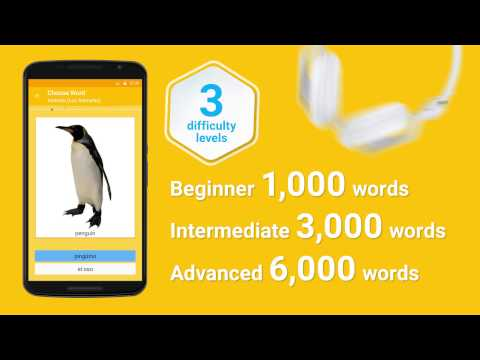 Learn Spanish Vocabulary - 6,000 Words