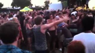 Mosh Pit fight at warped tour during MMF