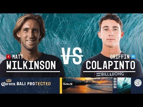 Matt Wilkinson Vs. Griffin Colapinto - Round Three, Heat 5 - Corona Bali Protected 2018