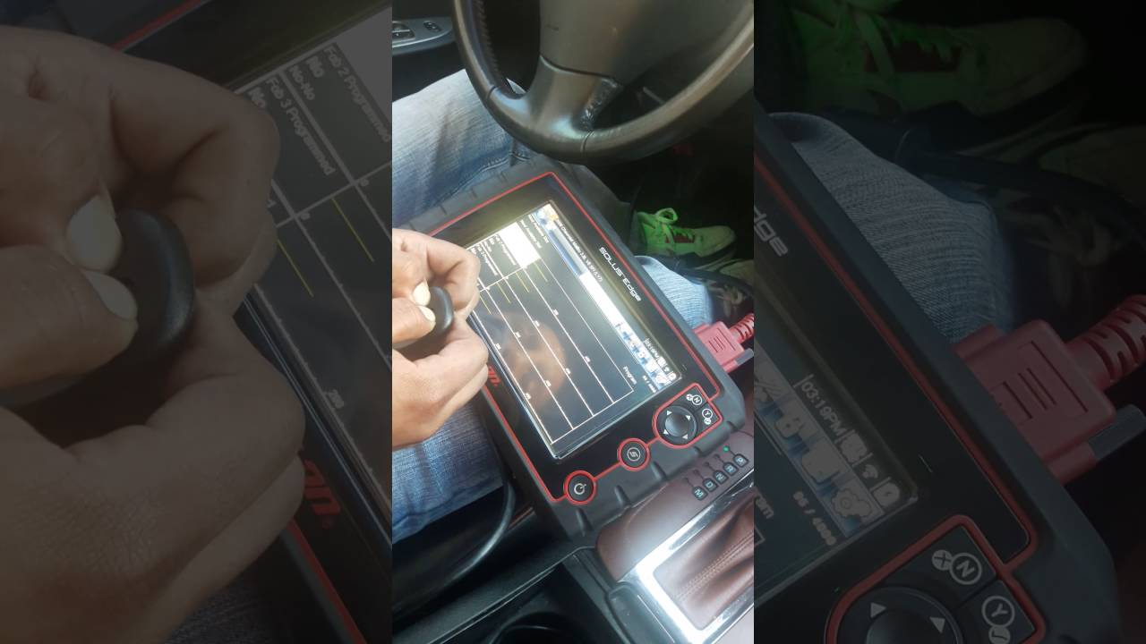 How To Reprogram A 2008 Chevrolet Key Fob With A Snap On Solus Scanner Youtube