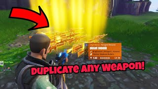 Fortnite Save The World Duplication Glitch (100% Working) Duplicate Any weapon PS4/Xbox one 2018