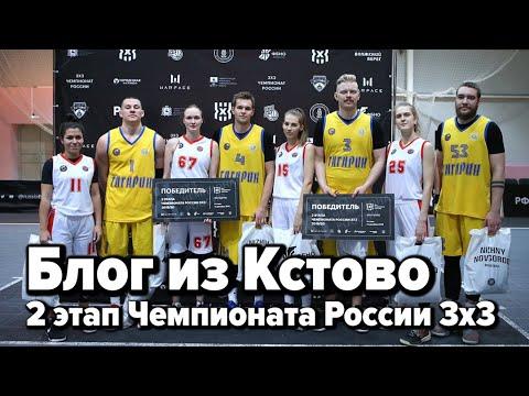 Блог из Кстово / 2 этап Чемпионата России 3x3