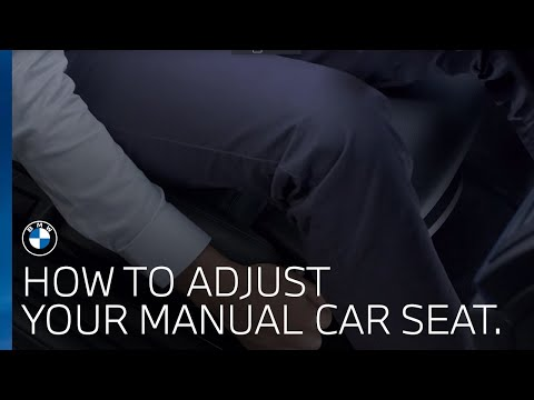 How Do I Adjust My Car Seat? (manual)? | BMW UK