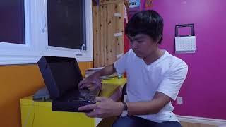 Cuộc sống Canada - Thay bàn phím Logitech cho máy tính  #Vlog 17 - Kenny Ngo