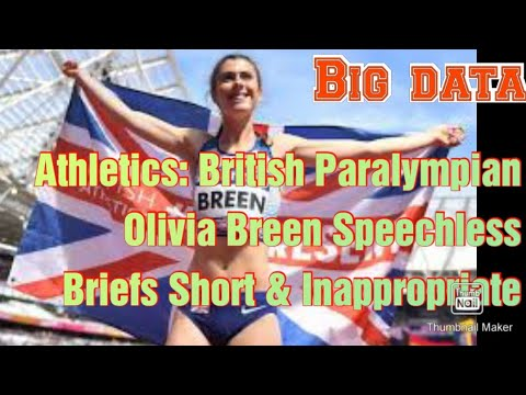Paralympian Olivia Breen says official called her sprinting shorts 'too ...
