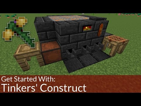 How To Get Started With: Tinkers' Construct | Modded Minecra