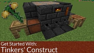 How To Get Started With: Tinkers' Construct | Modded Minecraft