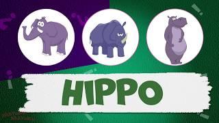 АНГЛИЙСКИЙ ДЛЯ ДЕТЕЙ! Животные Африки - Learning English for kids