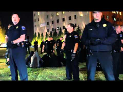 Occupy Tulsa Arrests and Pepper Spraying RAW Video! by Emmett Lollis