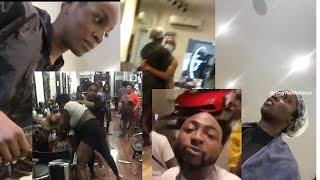 Davido Reacts As Tiwa Savage FGHT Seyi Shay As They Expose Their Dirty Secret