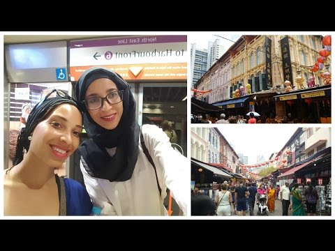 TRAVEL VLOG SINGAPORE :  CHINATOWN   سنغافورة