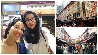 travel vlog singapore chinatown