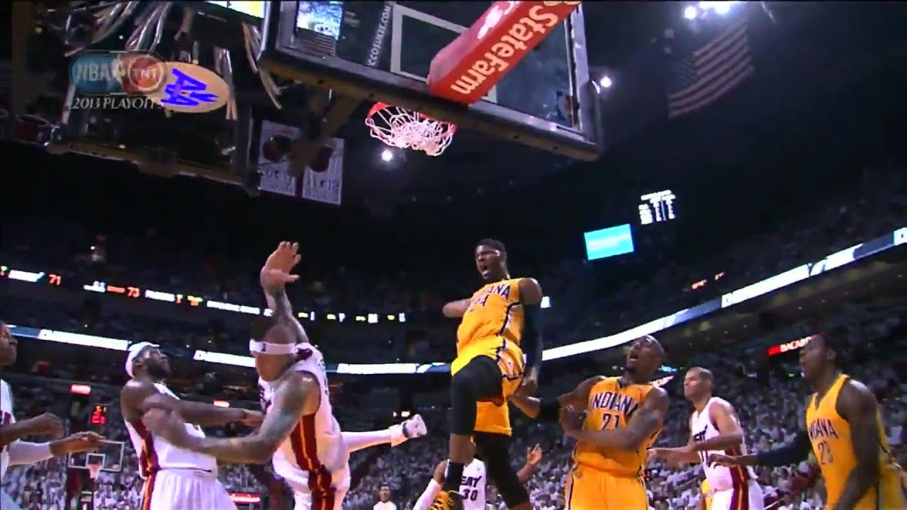 Paul george dunk over chris andersonwho the hell is birdman youtube voltagebd Image collections