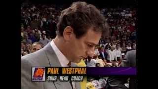 Chicago Bulls Introduction 1993 NBA Finals Game 4 vs Phoenix Suns.