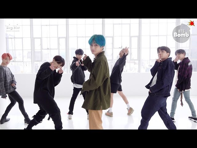 [BANGTAN BOMB] '작은 것들을 위한 시 (Boy With Luv)' Dance Practice (Eye contact ver.) - BTS (방탄소년단)