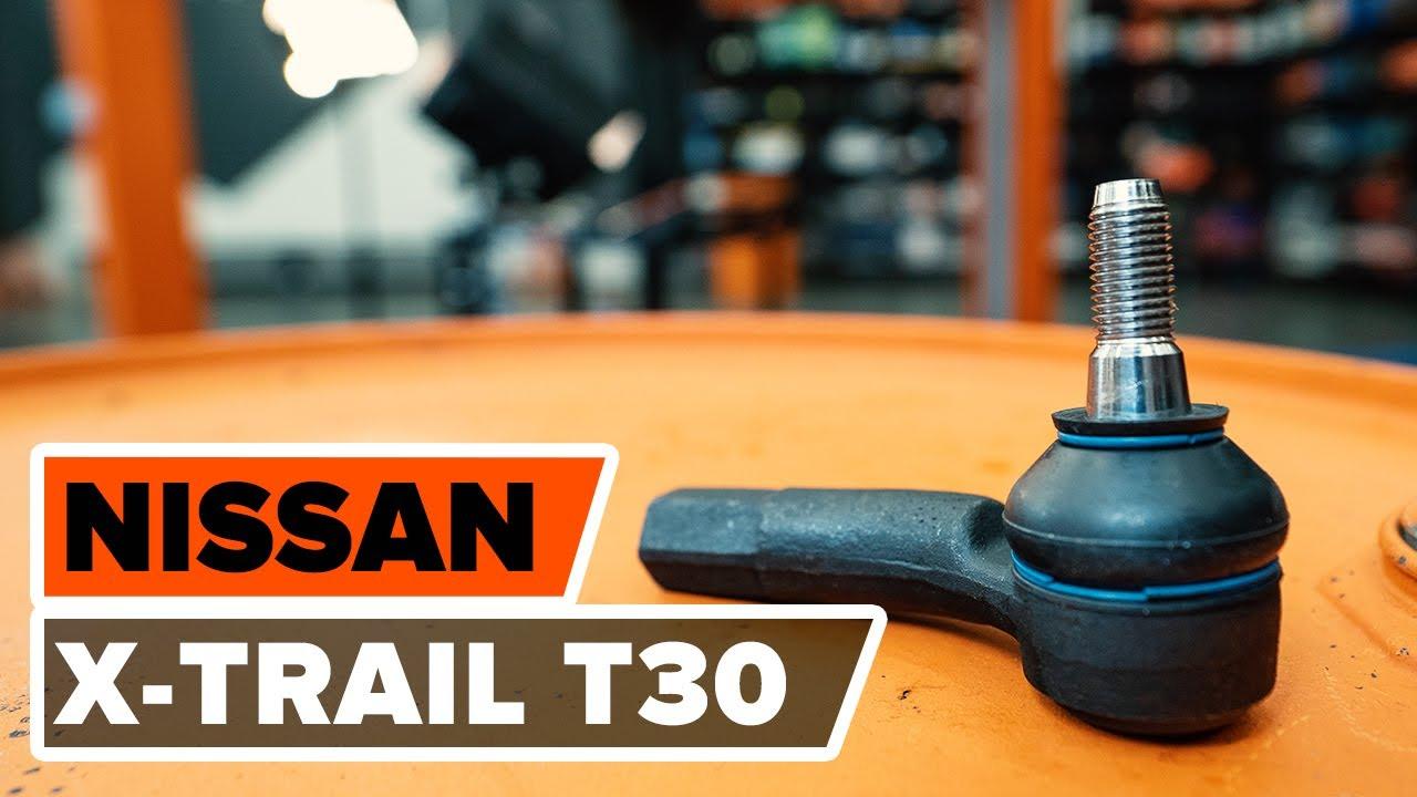 Cómo cambiar la rótula de dirección en NISSAN X-TRAIL T 30 INSTRUCCIÓN | AUTODOC