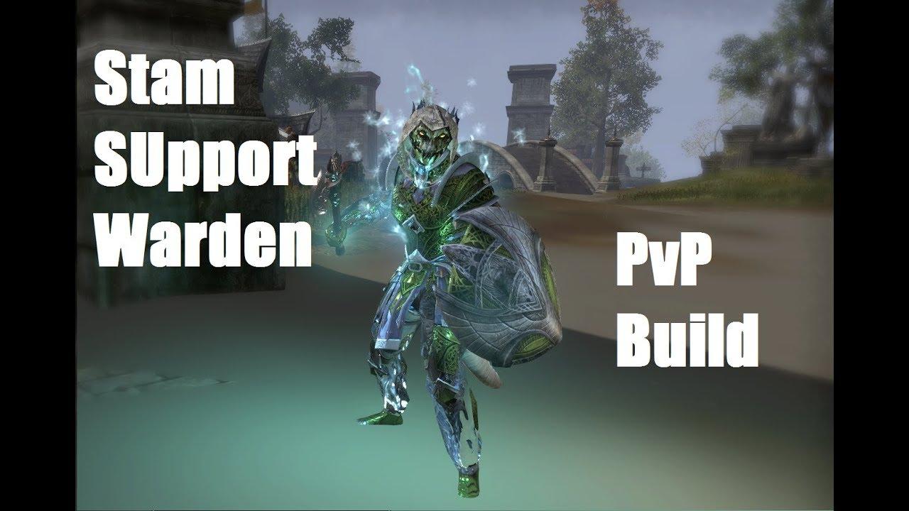 Build Pvp Warden Eso