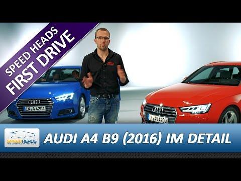 """2016 Audi A4 B9 im Detail - Vergleich zum """"alten"""" Modell"""