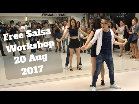 Free Salsa Workshop 20 Aug 2017 - Sunday Night Latin Singapore
