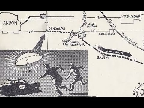 Aliens & UFOs:  The Portage County, Ohio, UFO Chase