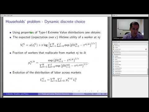 Trade and Labor Market Dynamics