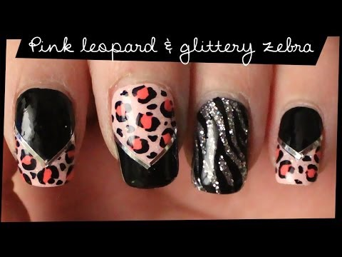 Pink & Gold Abstract nail art from YouTube · Duration:  1 minutes 42 seconds