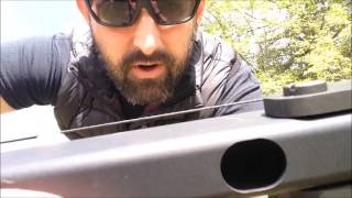 SAS Tactical Survival Bow - Shooting without the pivot pin screws