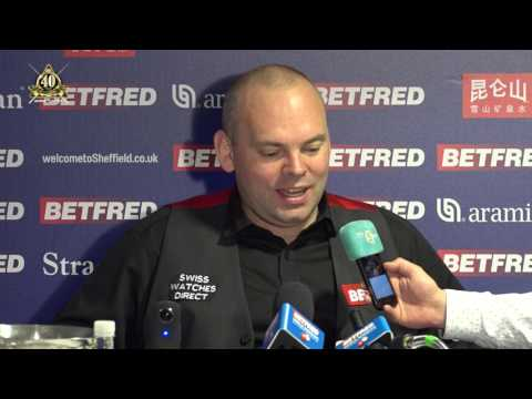 Stuart Bingham is out [R2] Post - 2017 World Snooker Championship