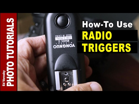 How to Use Radio Triggers for Flash Photography