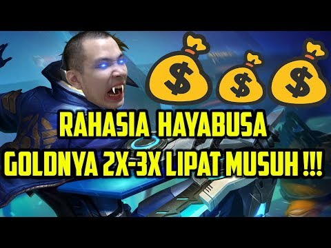 Tutorial Hayabusa, RAHASIA GOLD 2X-3X LIPAT MUSUH! Mobile Legends