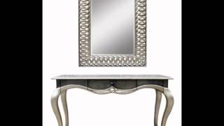 Gambar cover Mesitas elegantes con espejos cuadrados y ovalados