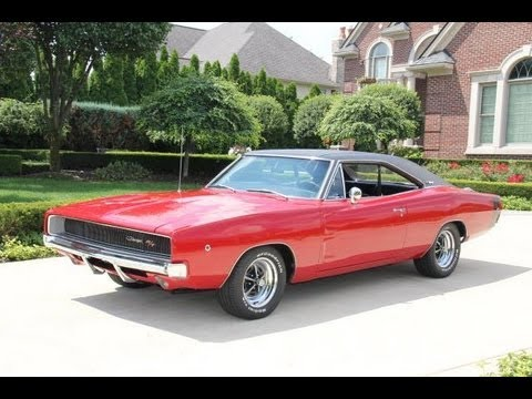 1968 dodge charger rt classic muscle car for sale in mi vanguard motor sales youtube. Black Bedroom Furniture Sets. Home Design Ideas