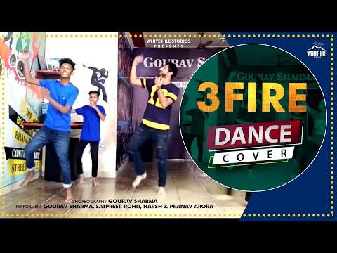3 Fire Bhangra Dance Performance  Sharry Mann  D4U Dance Academy  Bhangra Dance Songs