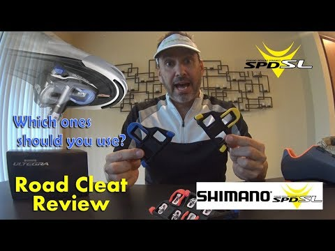 Shimano SPD-SL Road Cycling Cleats Review - Different Colors Explained