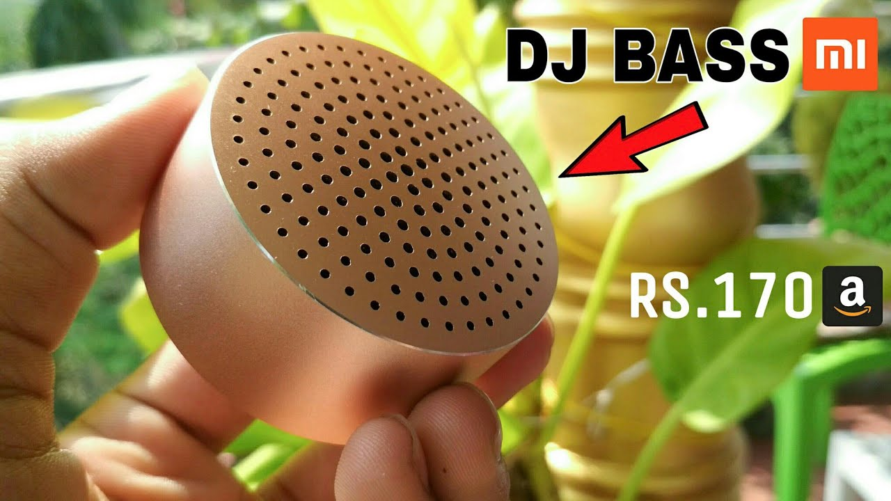 Xiaomi DJ BASS Wireless Speaker For SmartPhone ✅ Cool Gadgets New Technology You Can Buy on Amazon