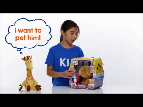 Kids Unboxing Toys | Little Live Pets- My Dream Puppy Snuggles