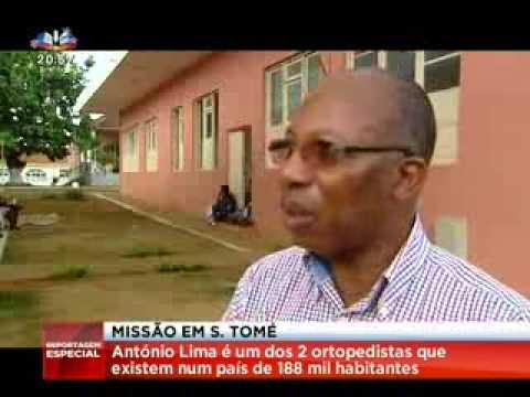 Missão em São Tomé - Reportagem SIC