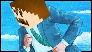 Die ganze Runde wegrennen? | Minecraft GET DOWN
