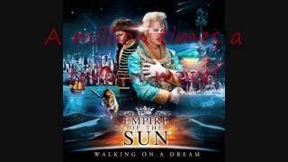 Empire Of The Sun - Half Mast (Lyrics on screen)