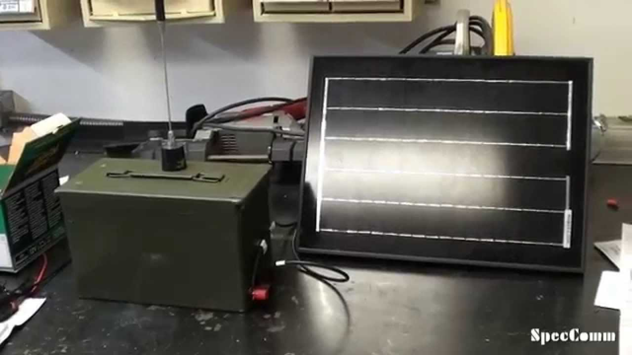 Build A Jeep >> GMRS Simplex Ammo Can Repeater - YouTube