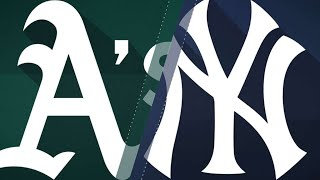 A's hit 4 home runs in 10-5 win over Yankees: 5/11/18