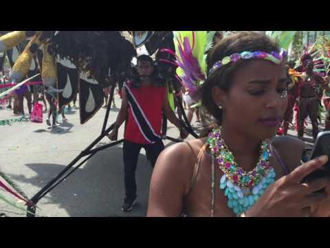 Carnival Nationz post stage - Caribana - Toronto Caribbean Carnival 2016