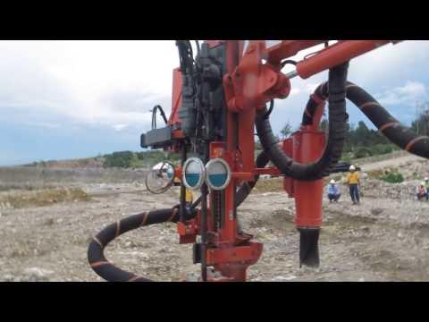 Sandvik Ranger DX800 at Pama Indo Mining
