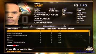 ~NBA2k13 Wii~ MAX'ed Out Stats Hack [Bully@WiiPlaza]