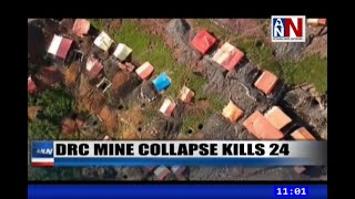 DR Congo Mine Collapse Kills 24 / ANN News Brief 11AM / December 16