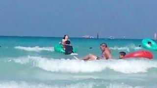 Большие волны Ta Waen Огромные волны  Ко-лан 1.01.2014г Тайланд Fun on the water Thailand