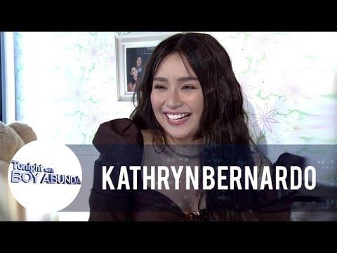 TWBA: Kathryn talks about her last kiss with Daniel