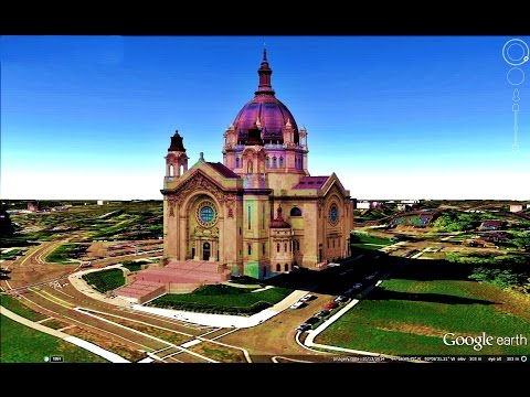 HISTORICAL PLACES OF MINNESOTA STATE,U S A  IN GOOGLE EARTH