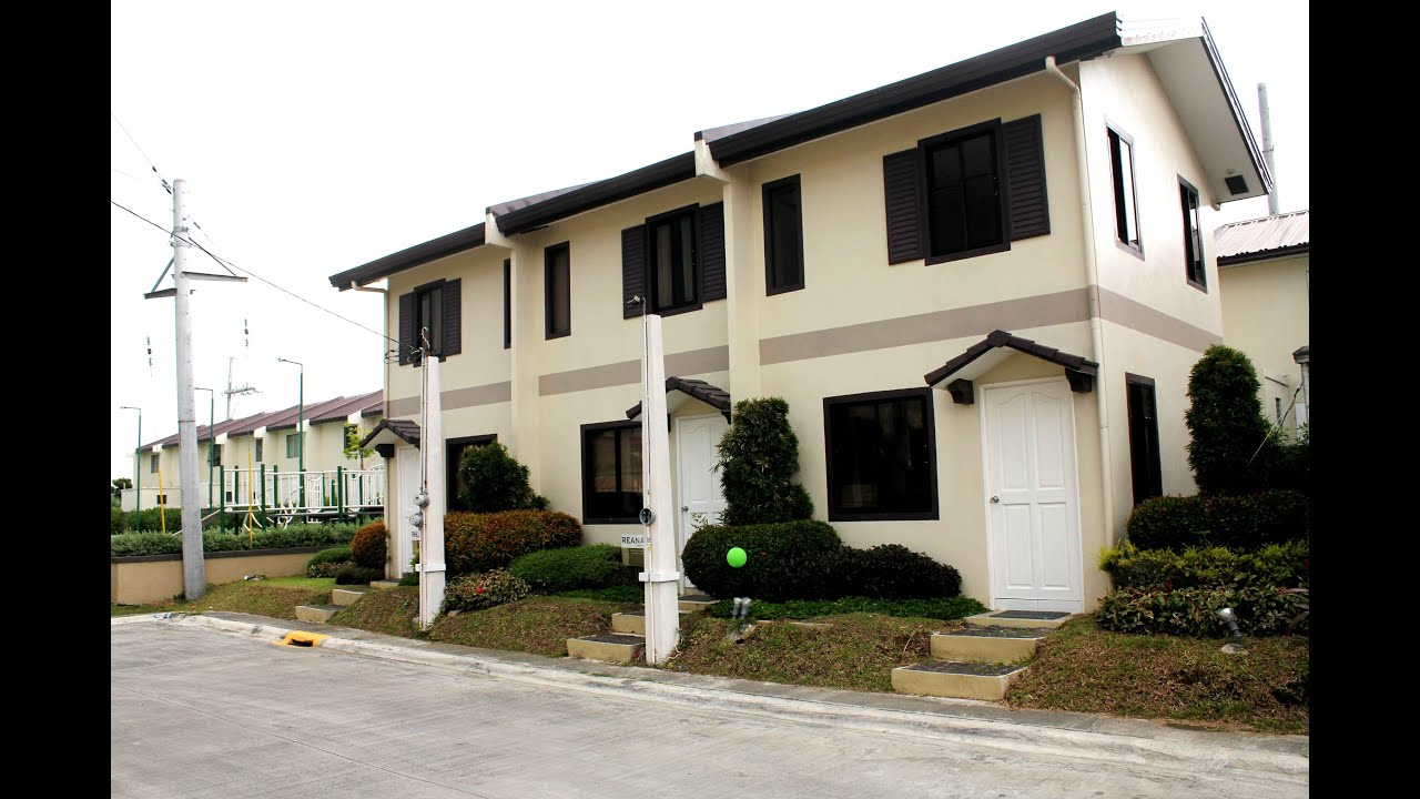 House And Lot For Sale Homes In Cavite Reana Camella Homes Townhouse Bucandala Imus Youtube
